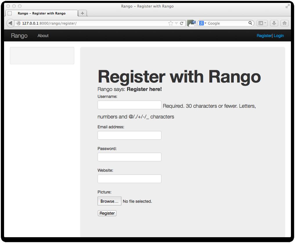 11. Bootstrapping Rango — How to Tango with Django